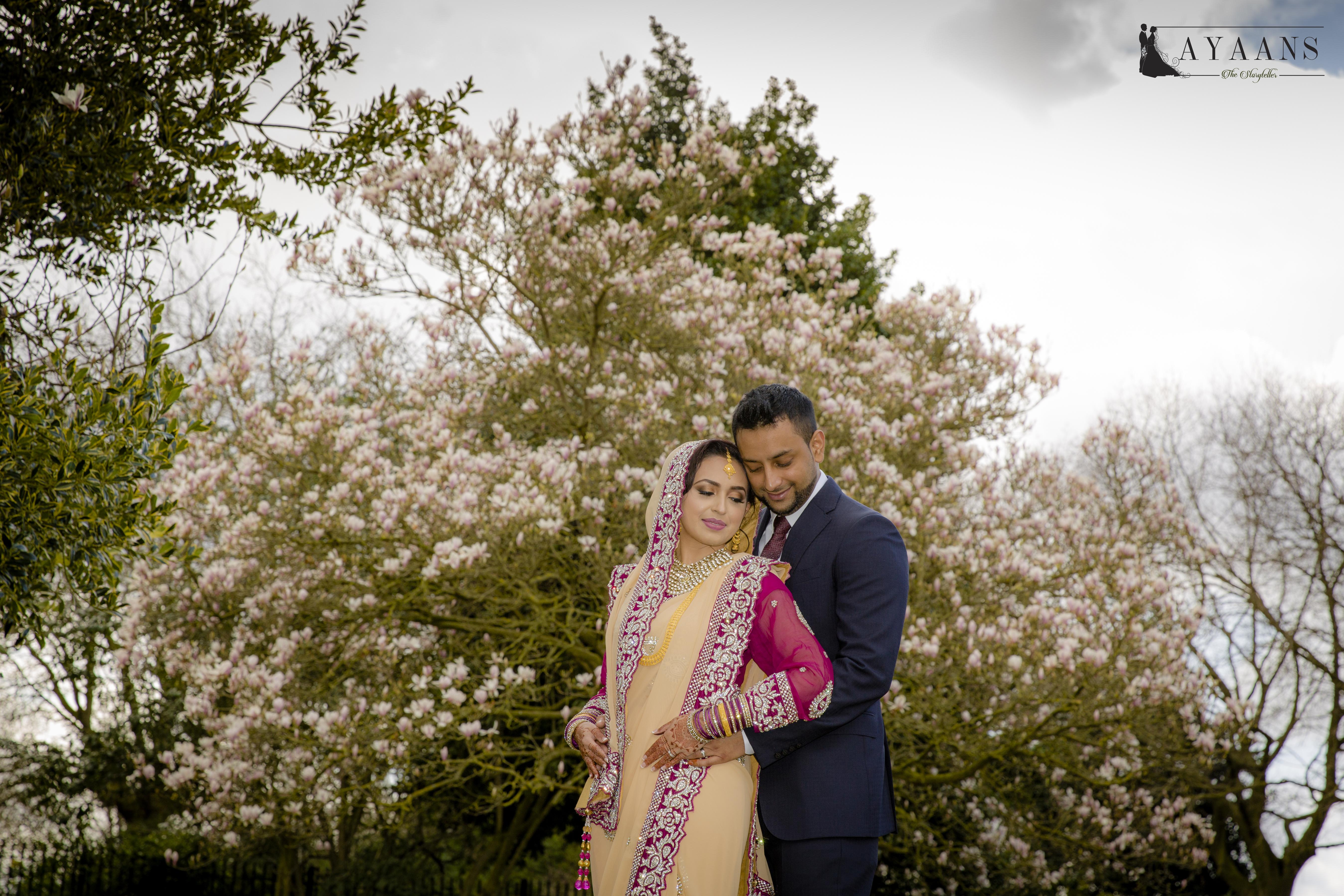 1. Jahangir Walima make up By RR Beauty London UK